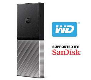 WD My Passport SSD Support Information